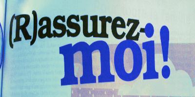 Assurances…